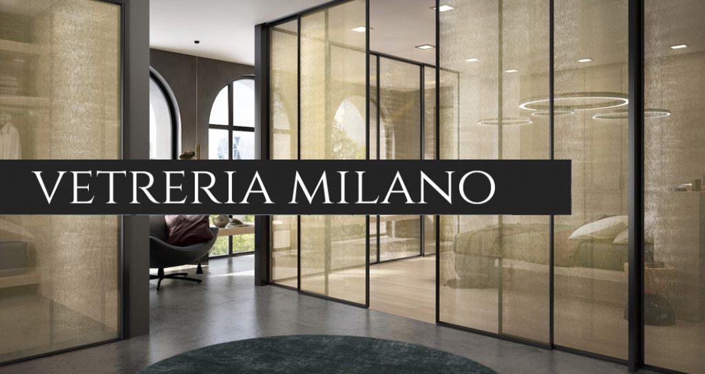 Porte in vetro Milano