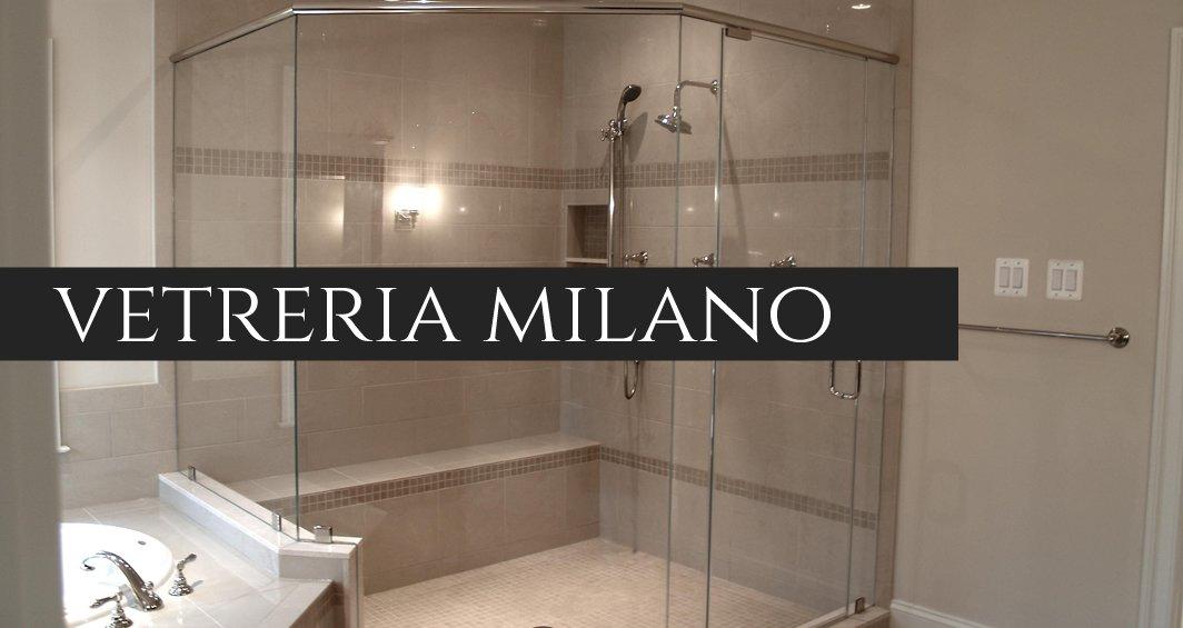 La Vetro Gamma per Box doccia su misura Milano